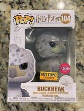 Funko Pop Harry Potter Flocked Buckbeak BLACK EYES Hot Topic Exclusive Of 3000