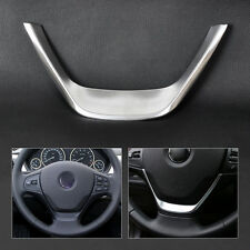 Chrome Steering Wheel Trim Cover For 2013 BMW 1 3 Series F30 F20 116 118 318 320