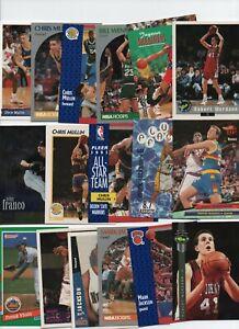 ST. JOHN'S UNIVERSITY RED STORM BASKETBALL BASEBALL lot MULLIN SEALY AURILIA...