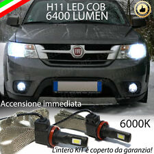 KIT FULL LED FIAT FREEMONT LAMPADE ANABBAGLIANTI LED H11 6000K 100% NO ERROR