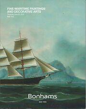 BONHAMS MARITIME MODELS PAINTINGS NAVIGATION Titanic Marconi Coll Catalog 2015
