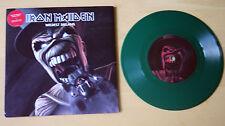 """Ex/ex! Iron Maiden sueños más desenfrenados (2003) 7"""" Edición Limitada Vinilo Verde"""