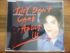 They Don't Care About Us by Michael Jackson - CD single 6 mixes