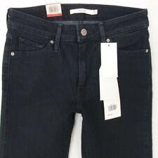 NEU Damen Damen Levi's 712 Slim Stretch Blau Jeans w26 l32 Größe UK 6 Bnwt