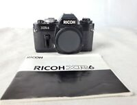 Ricoh XR6 Camera Body with Manual