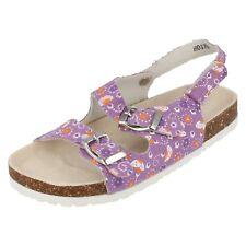 Niña H0179 Lona Sandalias de Verano por Spot On Disponible en 2 Colores Precio