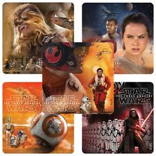 20 Star Wars The Force Awakens STICKERS Party Favors Teacher Supplies Treat Bags