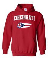 Cincinnati Ohio Unisex Hoodie Hooded Sweatshirt