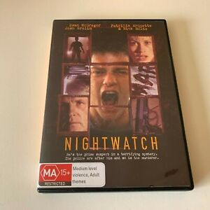 Nightwatch DVD (PAL, 2004) VGC, RARE, FREE POST