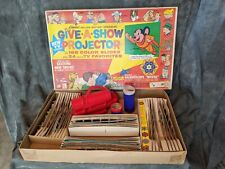 1963 Vintage Kenner Give- A-Show Projector with Slides in Original Box