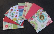 "Handmade Diecut Mini Envelopes 3 1/2"" x 2 1/4"" (6 x 9 cm) Gift Card Envelopes"