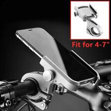 "CNC Aluminum MTB Bike Bicycle Handlebar Phone Holder Motorcycle Support 4-7"""