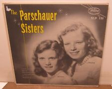 The PARSCHAUER SISTERS Debut Phonograph Record Album LP Demonstrator Copy!!