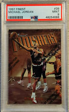 1997-98 Finest Michael Jordan Finishers PSA 9 MINT Comp to BGS