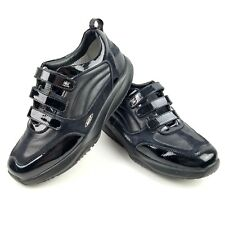b4360706704f MBT Womens Size 9 Black Walking Shoes Trainers Hook Loop 400150-03