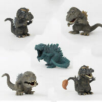"4"" Godzilla Movie King of the Monster 5 Pcs Action Figures Set Party Toys Gift"
