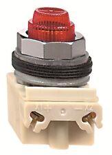 Schneider Electric 9001KP38LRR31 Square D Standard Red Pilot Light