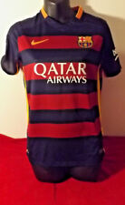 FC BARCALONA OFFICIAL NIKE JERSEY IN ALMOST NEW CONDITION SIZE L KIDS