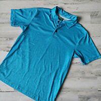 Ben Hogan Small Performance Power Air Men's Golf Polo Shirt Blue Short Sleeve