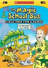 Magic School Bus Field Trip Fun and G 0767685272503 DVD Region 1
