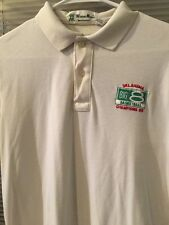 Oklahoma Sooners Basketball Big 8 Champions 1985 Men's Polo Shirt L White S/S