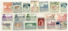 (11-897) 16 Assorted Cancelled  Postage sTamps from Columbia