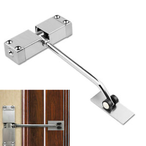 Spring Closing Door Closer Stainless Steel Automatic Adjustable Surface Mounted