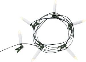 Polarlite Weihnachtsbaum Beleuchtung Innen netzbetrieben 16 LED Warm-Weiß