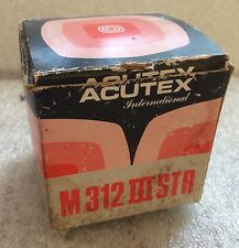 Acutex M312 IIISTA Cartridge Stylus BOX ONLY Vintage 1978-1984 Collectible Prop