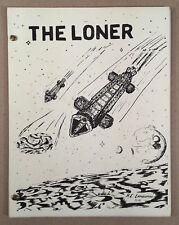 THE LONER Aternate Universe Novel, Space: 1999 GEN, Jan 1977 First Printing