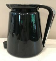 """Keurig 2.0 Replacement Thermal Carafe 24oz Black with Chrome Silver Handle 6.8"""""""