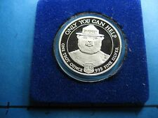 SMOKEY THE BEAR YELLOWSTONE PARK YOU CAN PREVENT FOREST FIRES 999 SILVER COIN