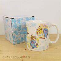 Pokemon Center Original Everyone Wobbuffet Ceramic Mug Cup Pikachu Ditto Combee