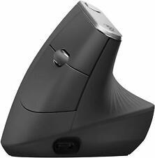 Logitech MX Vertical ergonomico avanzato Wireless e Cablato Mouse Ottico USB