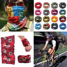 Sports Snood Bandana Head Face Mask Neck Warmer Sport Running Scarf Random Color