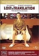 LOST IN TRANSLATION - BRAND NEW/SEALED REGION 2/4 DVD (BILL MURRAY, SCARLETT J.)