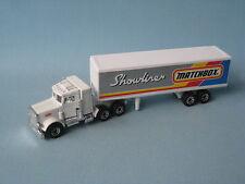 Matchbox Convoy Peterbilt Box Truck showliner pre-pro preproducclón de prueba