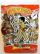 Miguelito Raqueta Paleta Enchilada Mexican Candy Hot Chili Lollipops 40 Pcs