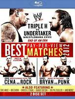 WWE: Best Pay-Per-View Matches 2012 (Blu-ray Disc, 2012, 2-Disc Set)