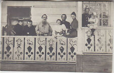 Russia, Russland, L.Tolstoi and his Family, PPC pre 1917