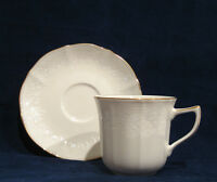 Noritake Chandon Cup & Saucer with Gold Trim