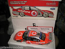 CLASSIC1.18 JAMIE WHINCUP 2007 TEAM VODAFONE  FORD FALCON BF #88 18282