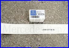 Genuine Mercedes Benz Sprinter Gray / Silver Rear Door Decal Sticker NEW