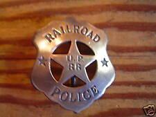 Badge: U. P. Railroad Police, Old West, Lawman