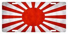 JAPAN Custom License Plate Japanese Empire Emblem Dirty Version