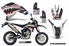 AMR Racing Yamaha Graphic Kit Bike Decal WR250 R/X Decal MX Parts 07-15 WARHWK K