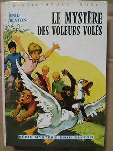 Enid Blyton - Le mystère des voleurs volés / Bibliothèque rose, 1977