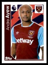 Merlin Premier League 2017 - West Ham United Andre Ayew No.344
