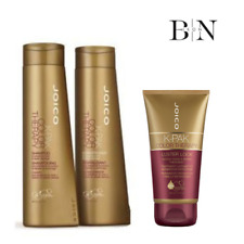 JOICO K-PAK COLOUR THERAPY SHAMPOO & CONDITIONER 300ML AND LUSTER LOCK140ML