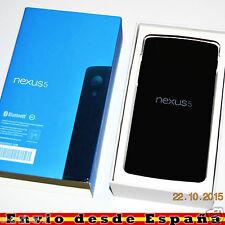 Telefono Movil Original LG Nexus 5 16GB / Libre de fabrica Nuevo / Negro